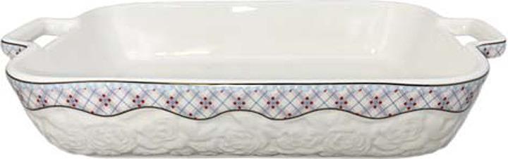 Фото - Форма для запекания МФК-профит Милана, прямоугольная, 34,5 х 22,2 х 6 см форма для запекания прямоугольная диаметр 7 2 см 6 ячеек iud250 6