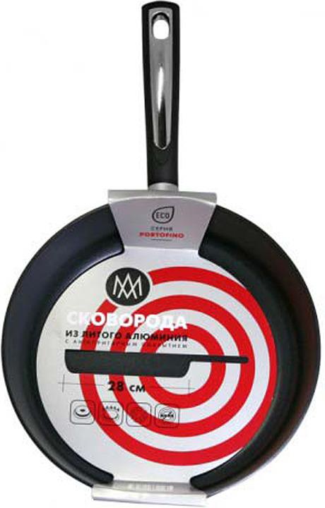 Сковорода АМ Портофино, без крышки, диаметр 28 см сковорода carat f28i диаметр 28 см