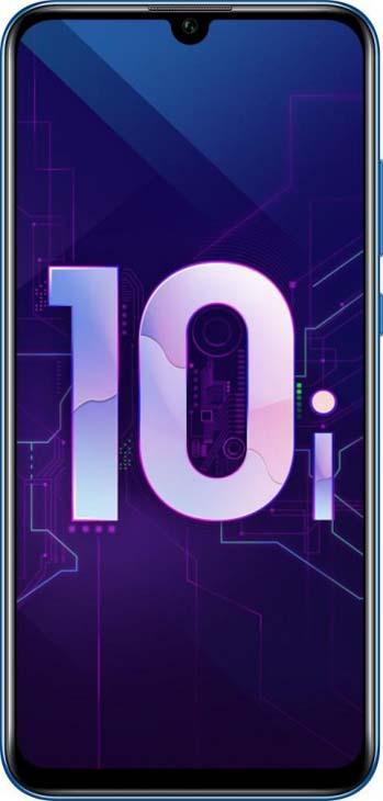 Смартфон Honor 10i 128 GB, синий смартфон xiaomi 1850375932 128 gb