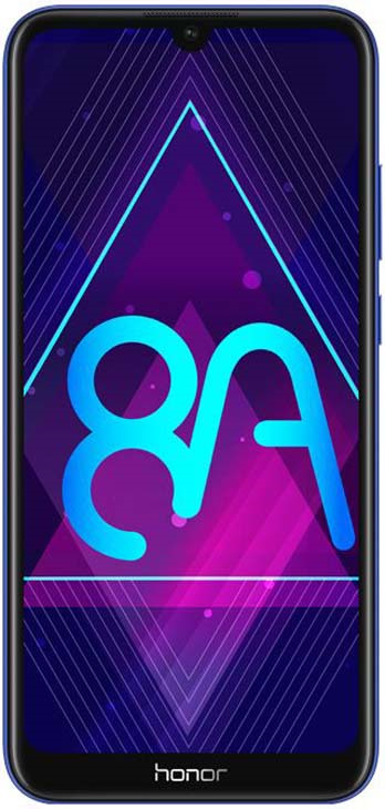 Смартфон Honor 8A 2/32GB, синий смартфон honor 8a gold 2 32