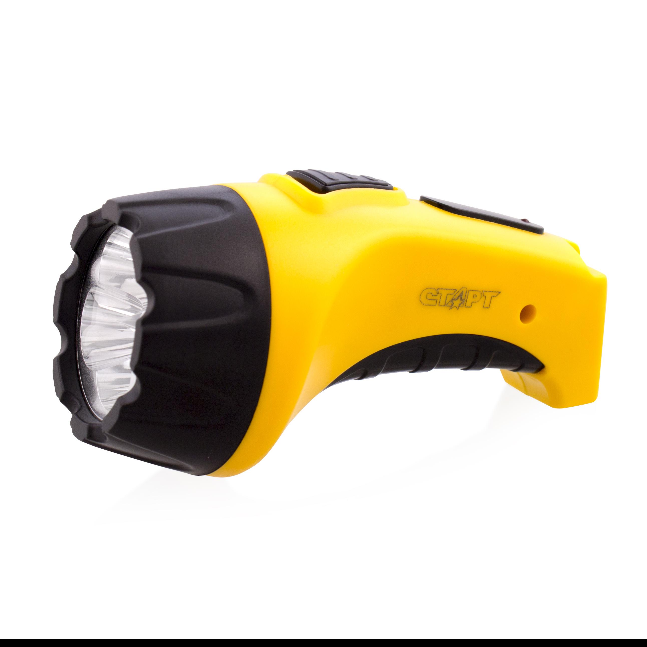 Ручной фонарь СТАРТ LHE 502-B1 Yellow, желтый