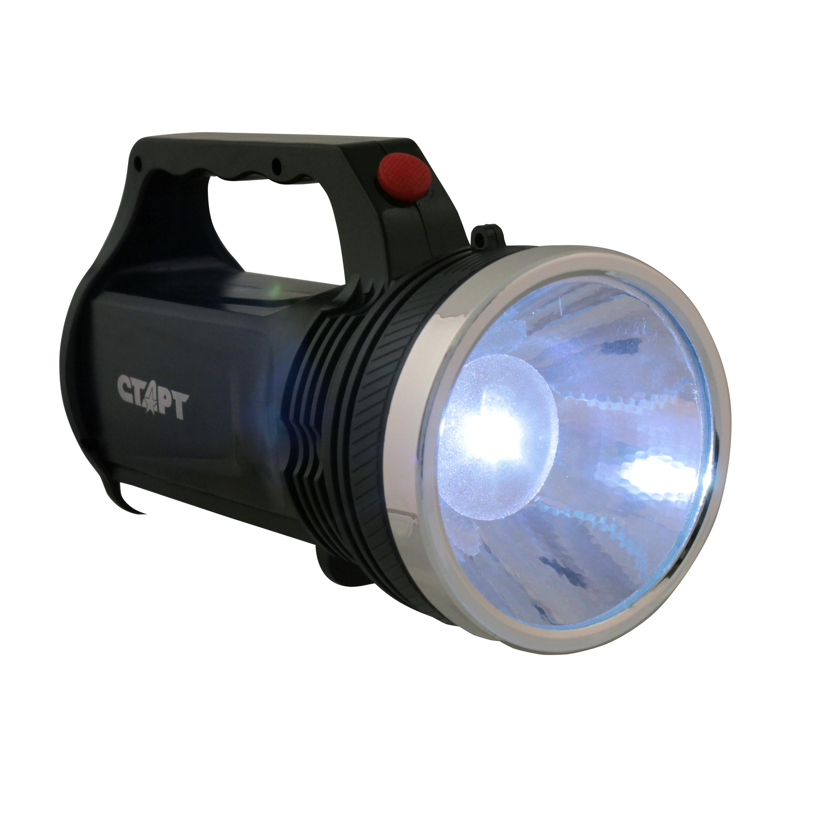 Ручной фонарь СТАРТ LHE 505-B1 Black, черный