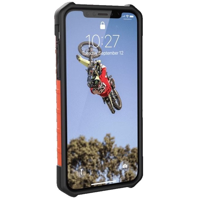 Чехол для сотового телефона UAG Pathfinder SE Camo Series Case для iPhone X/iPhone Xs, зеленый, оранжевый цена