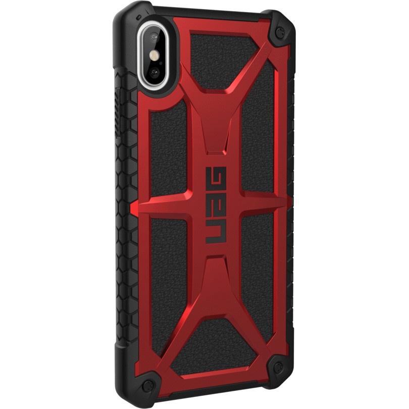Чехол для сотового телефона UAG Monarch Series Case для iPhone Xs Max, красный защитный чехол uag monarch для iphone xs max цвет красный