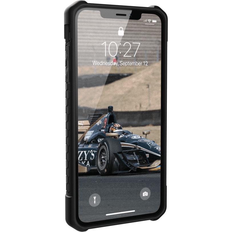 Чехол для сотового телефона UAG Monarch Series Case для iPhone Xs Max, черный защитный чехол uag monarch для iphone xs max цвет красный