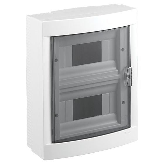 Распределительный щит VIKO на 16 автоматов навесной, белый блок viko vera 9068 2189