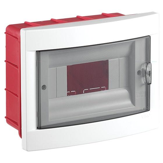 Распределительный щит VIKO на 8 автоматов в нишу, белый блок viko vera 9068 2189
