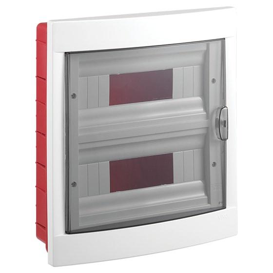 Распределительный щит VIKO на 24 автомата в нишу, белый блок viko vera 9068 2189