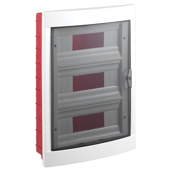 Распределительный щит VIKO на 36 автоматов в нишу, белый блок viko vera 9068 2189
