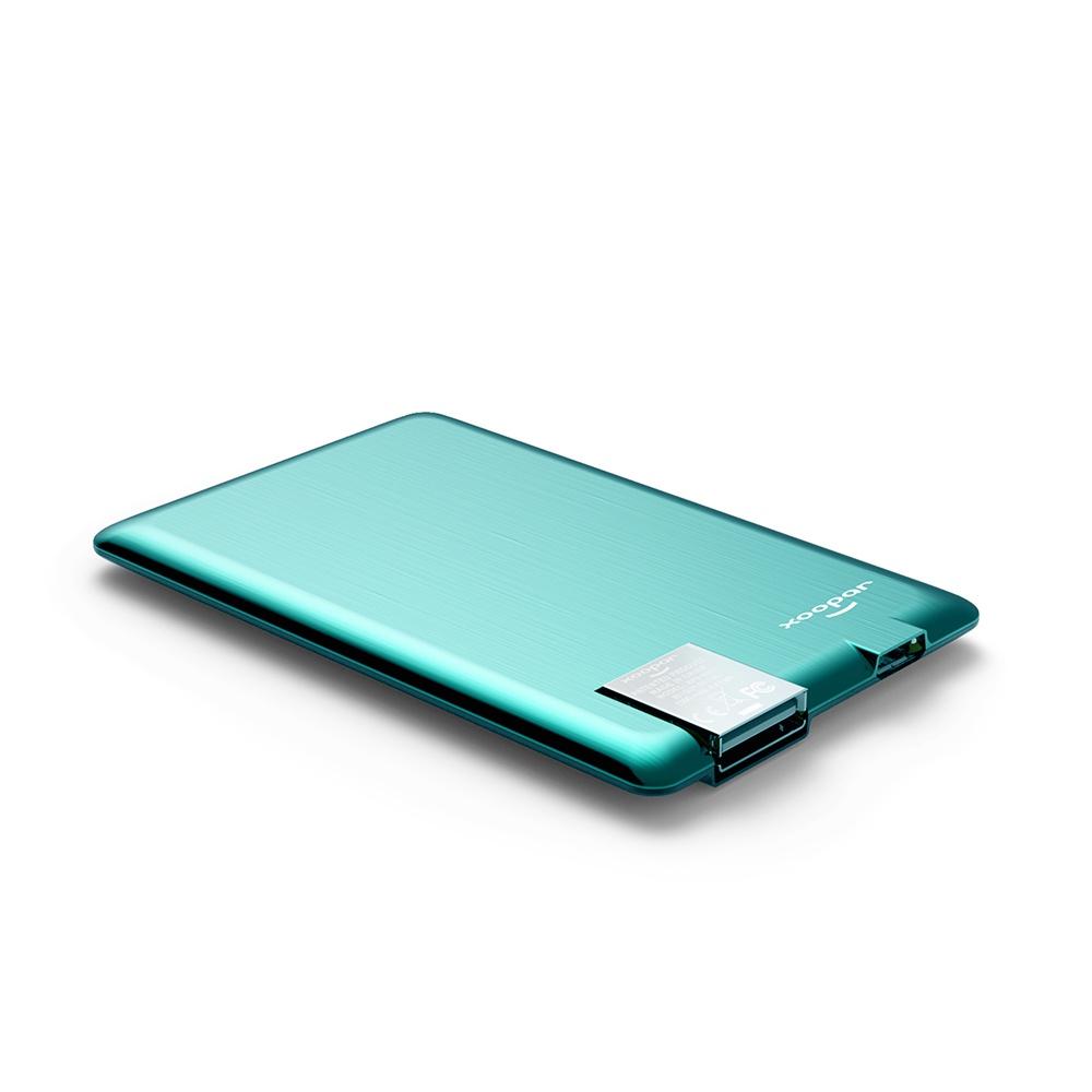 Внешний аккумулятор XOOPAR Powercard, зеленый аккумулятор внешний monster powercard turbo 133338 00 space grey