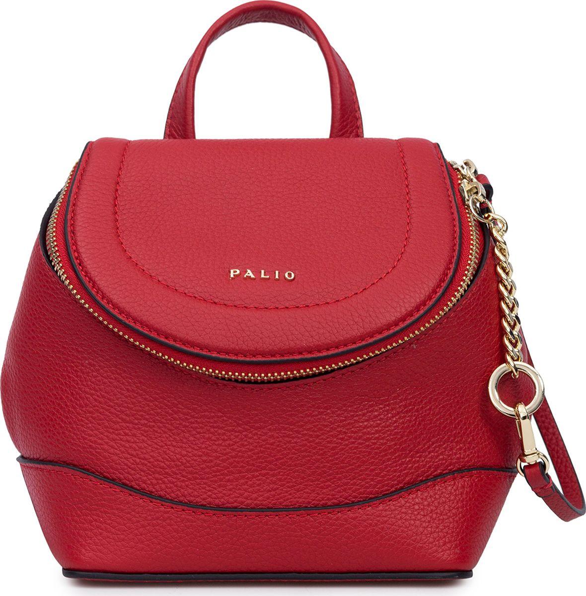 купить Рюкзак женский Palio, 16242A1-1, красный по цене 6020 рублей