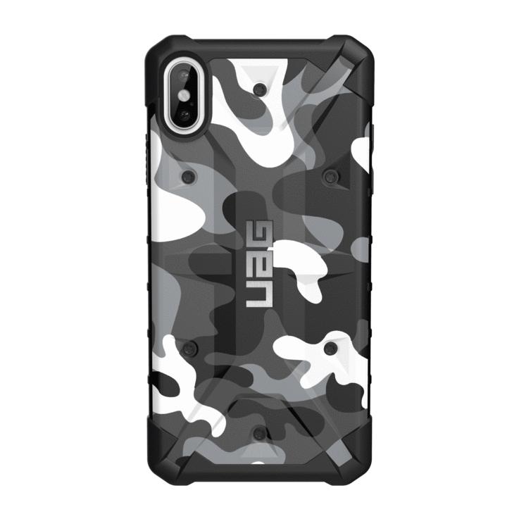Чехол для сотового телефона UAG Pathfinder SE Camo для iPhone Xs Max, белый цена