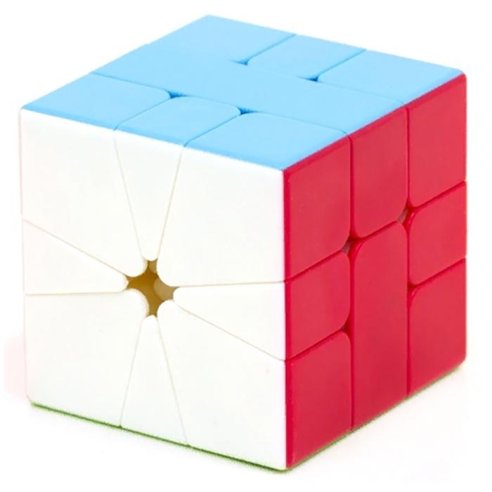 Головоломка MoFangGe КУБИК QIFA (S) SQUARE-1 (COLOR) головоломка mofangge кубик x man 7x7 spark magnetic