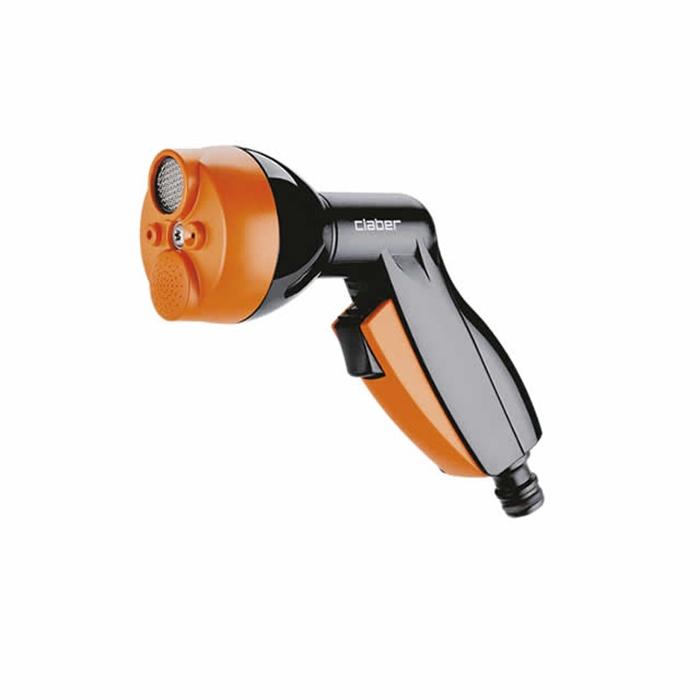 цена на Пистолет для полива Claber 9083, черный, оранжевый