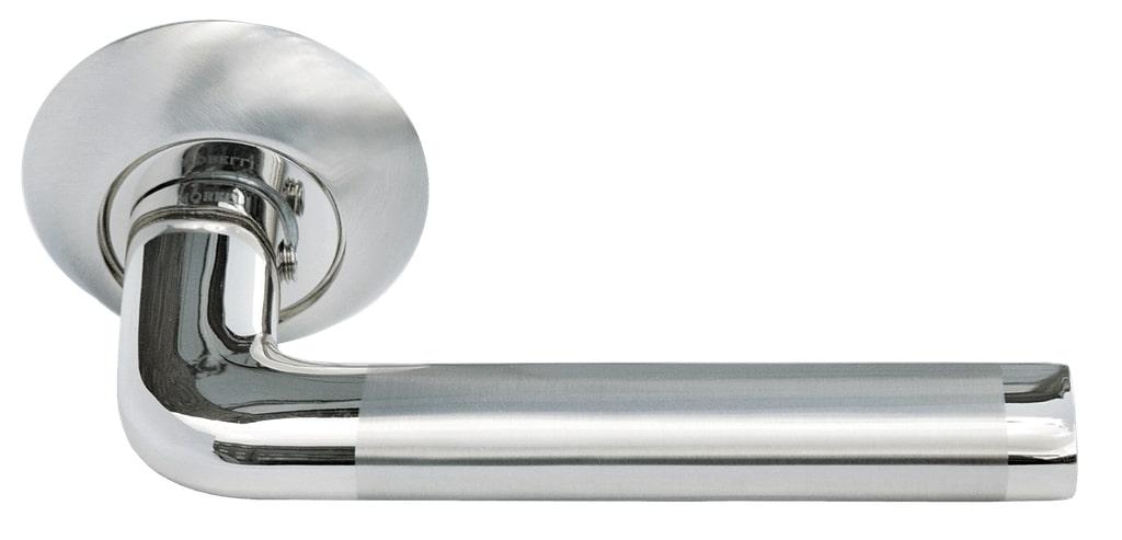 Ручка дверная Morelli DIY MH-03 SN/CP