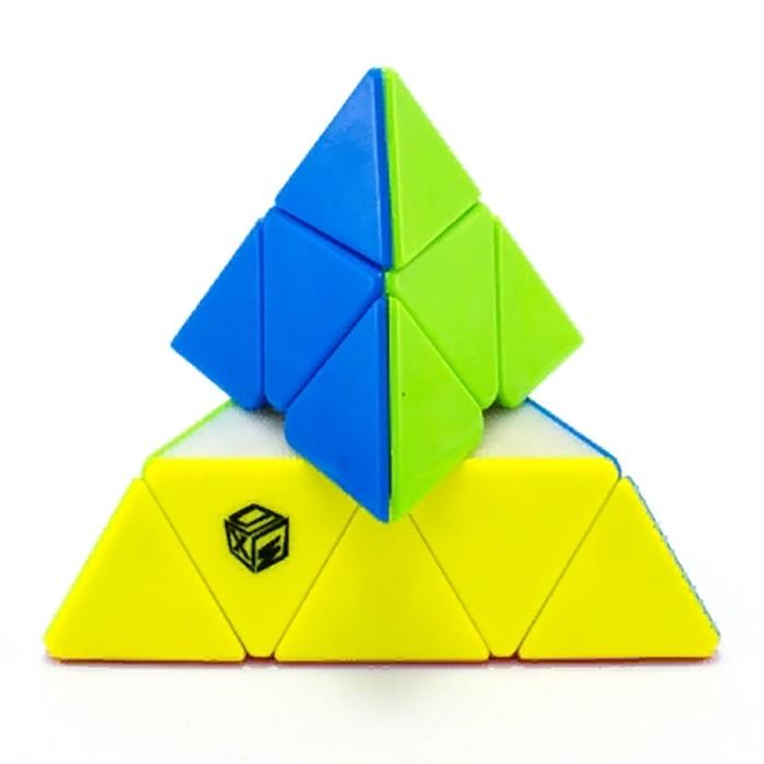 Головоломка MoFangGe ПИРАМИНСК X-MAN BELL PYRAMINX (COLOR) головоломка mofangge кубик x man 7x7 spark magnetic