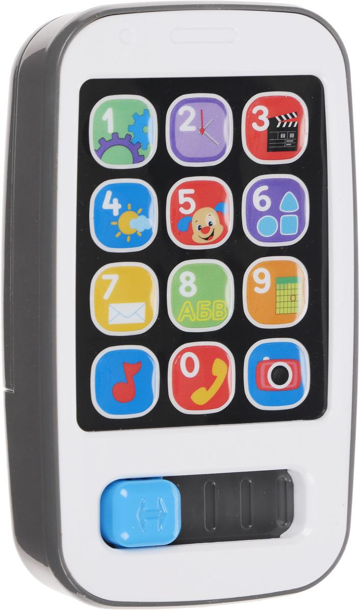 Fisher-Price Развивающая игрушка Смейся и учись Умный телефон