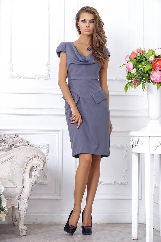 Платье Eva офисное платье футляр maurini