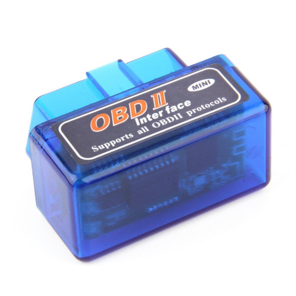 Тестер автомобильный No Name Автомобильный сканер ELM327 Bluetooth Mini, синий сканер 002 автомобильный диагностический bluetooth 327 b