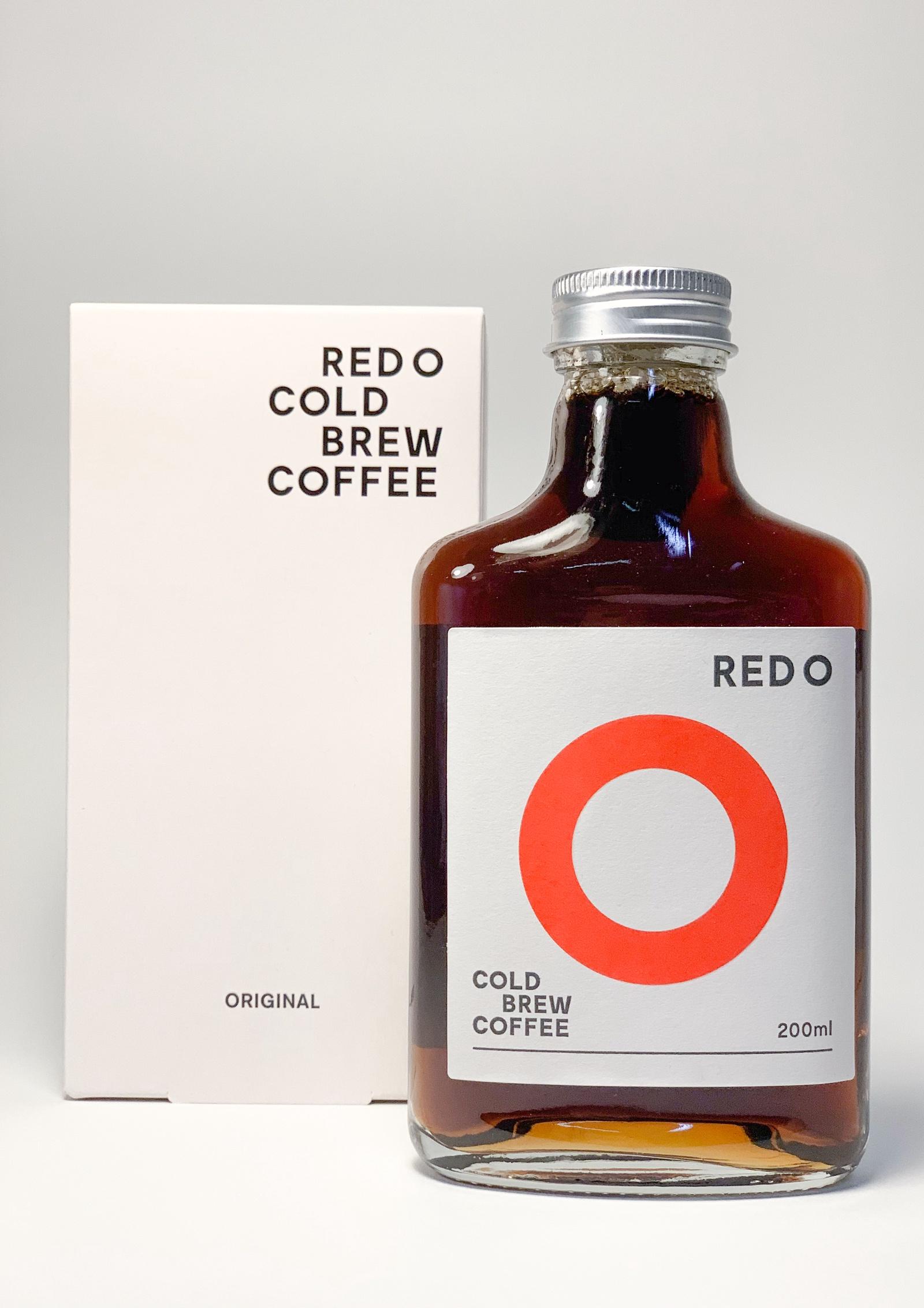 Кофейный напиток REDO COLD BREW COFFEE 84638, 430 фляжка 200 мл