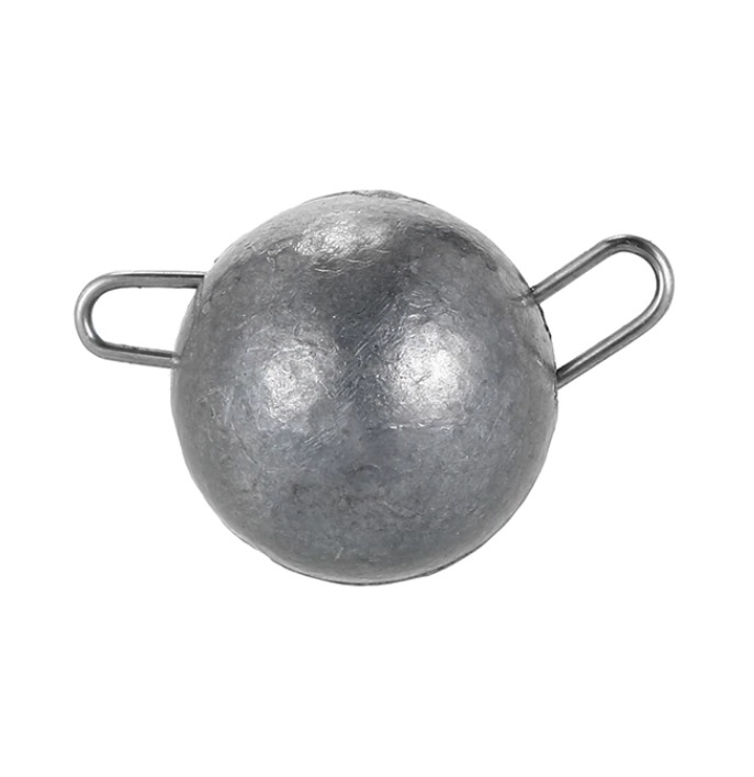 Грузило AGP чебурашка, серый, серебристый
