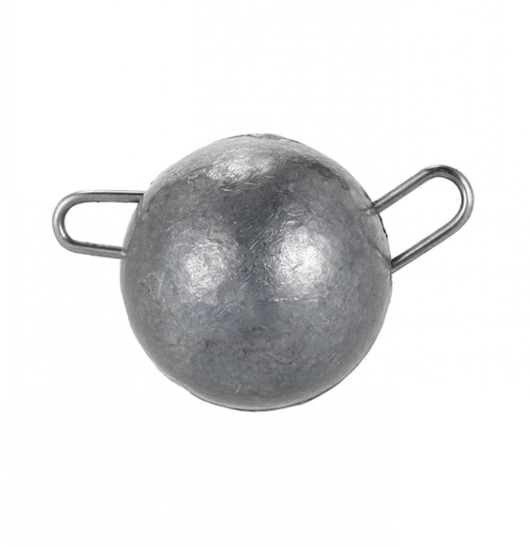 Грузило AGP чебурашка, серый, светло-серый, серебристый, серый металлик
