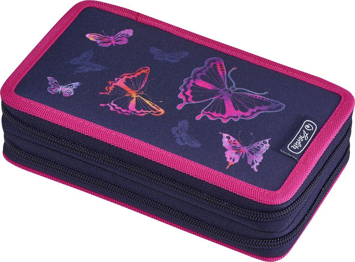 Пенал с наполнением Herlitz Rainbow Butterfly, 50020898, 23 предмета недорого