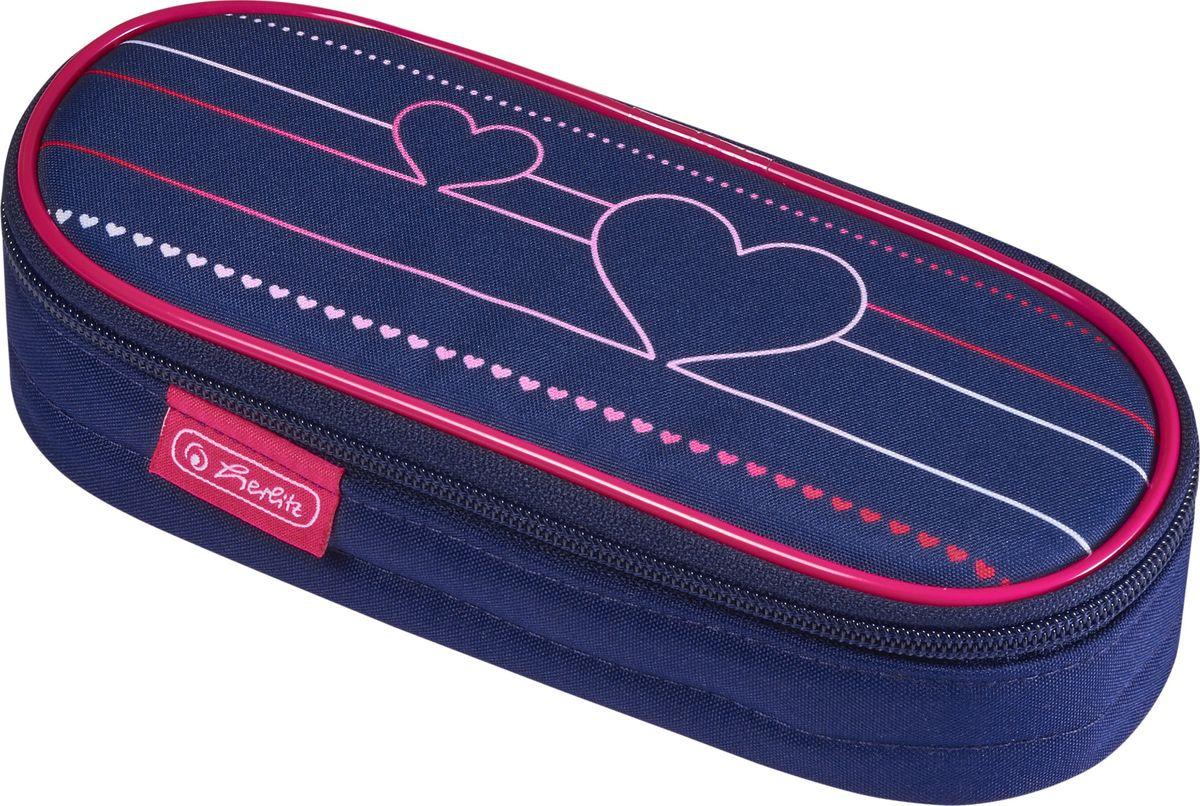 Пенал-косметичка Herlitz Case Heartbeat, 50021178