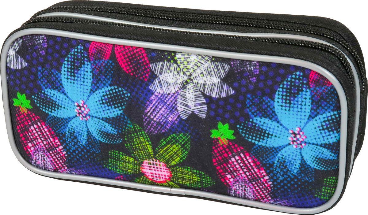 Пенал-косметичка MagTaller Zoom Flowers, 33820-11 цена и фото
