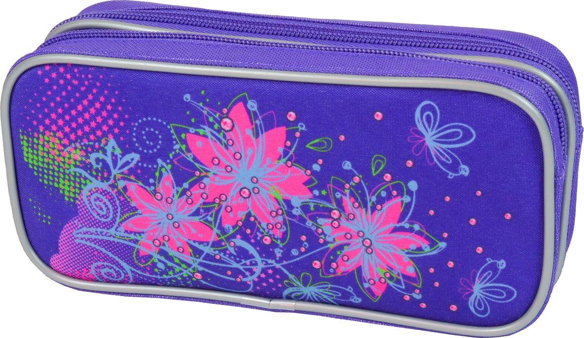 Пенал-косметичка MagTaller Stoody II Flowers, 33820-63 пенал milan flowers blue 081130fwb 259010
