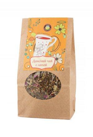 Чай листовой Травы Горного Крыма Дамский с липой чай травяной травы горного крыма мята 50 г