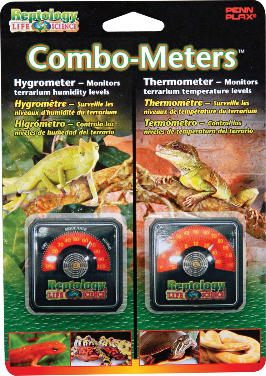 Термометр + гигрометр для террариума Penn-Plax, REP43