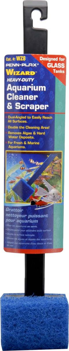Очиститель стекол Penn-Plax Wizard, для удаления водорослей, WZ8 очиститель грунта penn plax gravel vac gv16 40 см