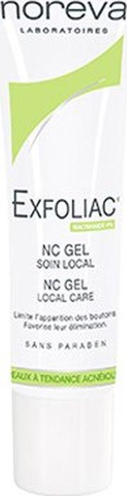 NC-гель Noreva Exfoliac, 30 мл noreva exfoliac гель очищающий