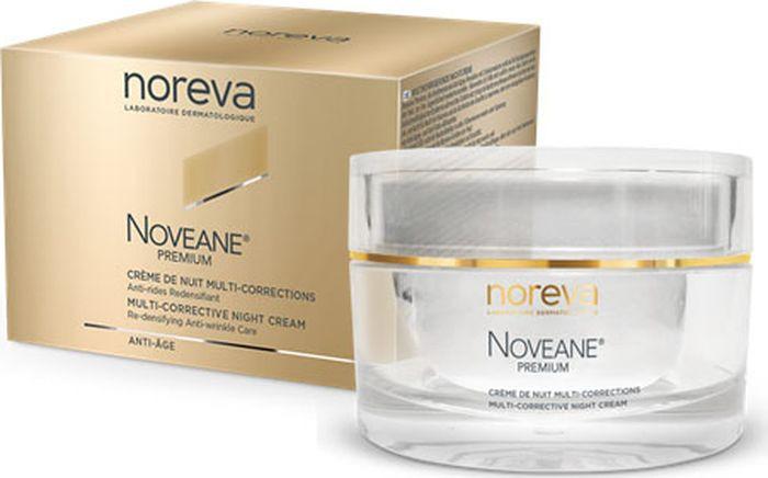 Крем для лица Noreva Noveane Premium, мультифункциональный, антивозрастной, ночной, 50 мл недорго, оригинальная цена