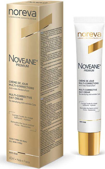 Крем для лица Noreva Noveane Premium, мультифункциональный, антивозрастной, дневной, 40 мл недорго, оригинальная цена