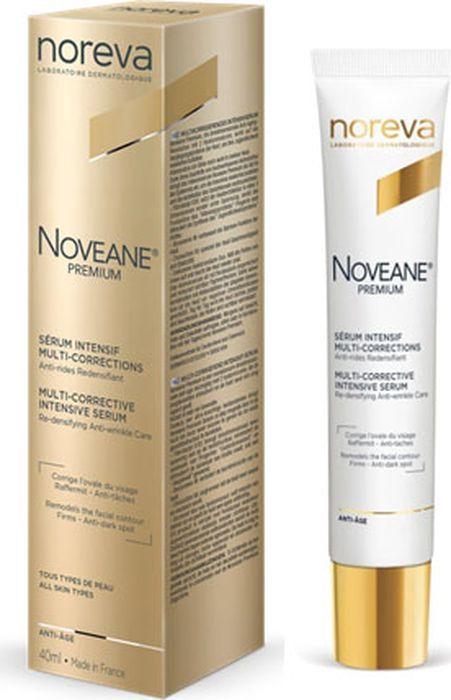Сыворотка для лица Noreva Noveane Premium, мультифункциональная, антивозрастная, 40 мл noreva iklen купить сыворотка