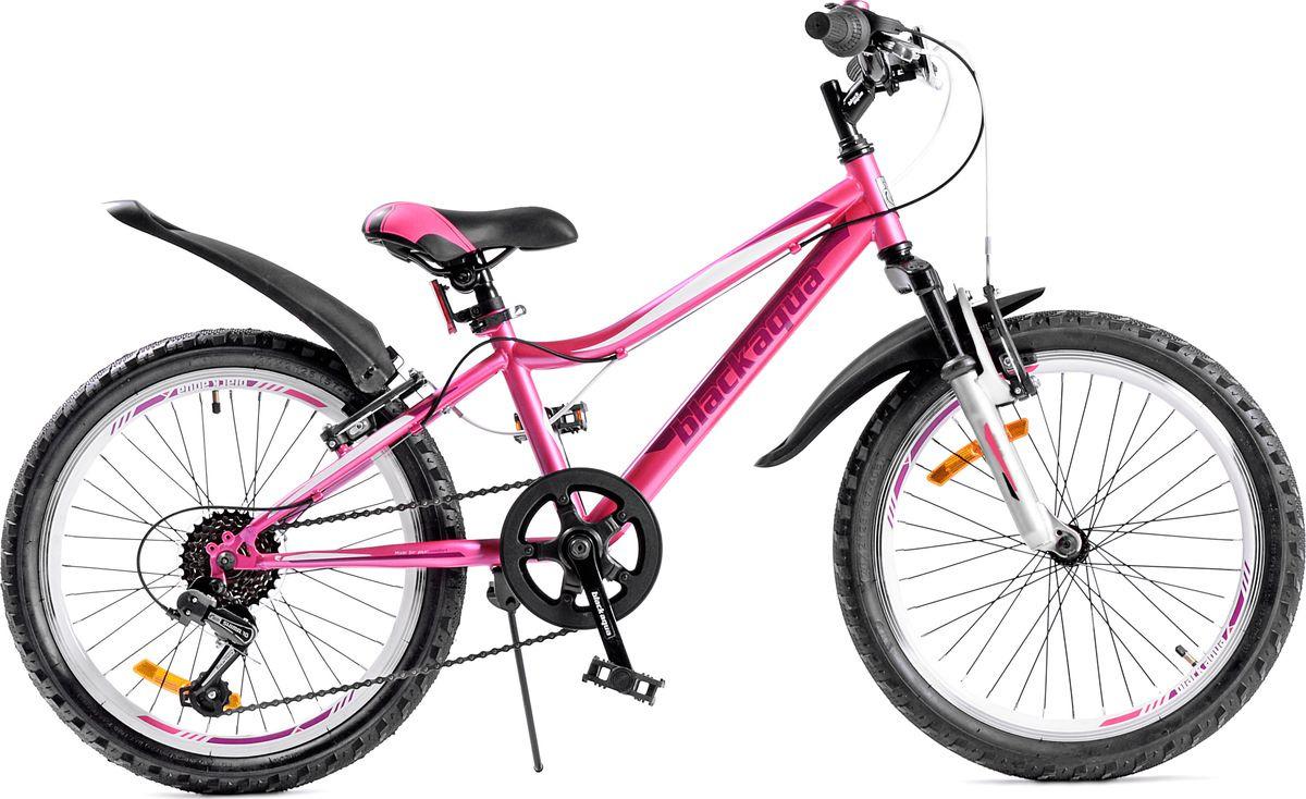 Велосипед Black Aqua Lady 1221 V, белый, колесо 20, рама 11