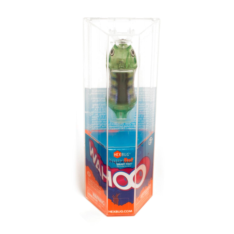 Игрушка для ванной Hexbug Рыбка-робот Wahoo 460-5162 зеленый