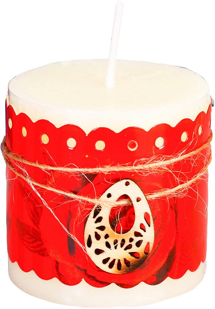 Свеча Моей мамочке, с подвеской, белый, высота 7 см2616992Cвеча для праздника и украшения интерьера.