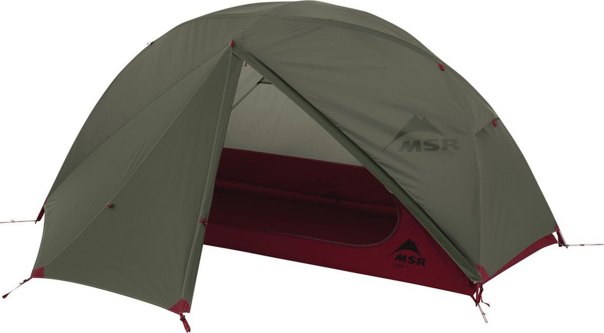 Палатка MSR Elixir, 1-местная, зеленый