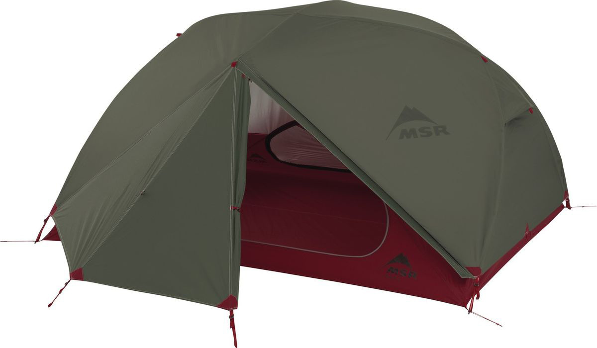 Палатка MSR Elixir, 3-местная, зеленый