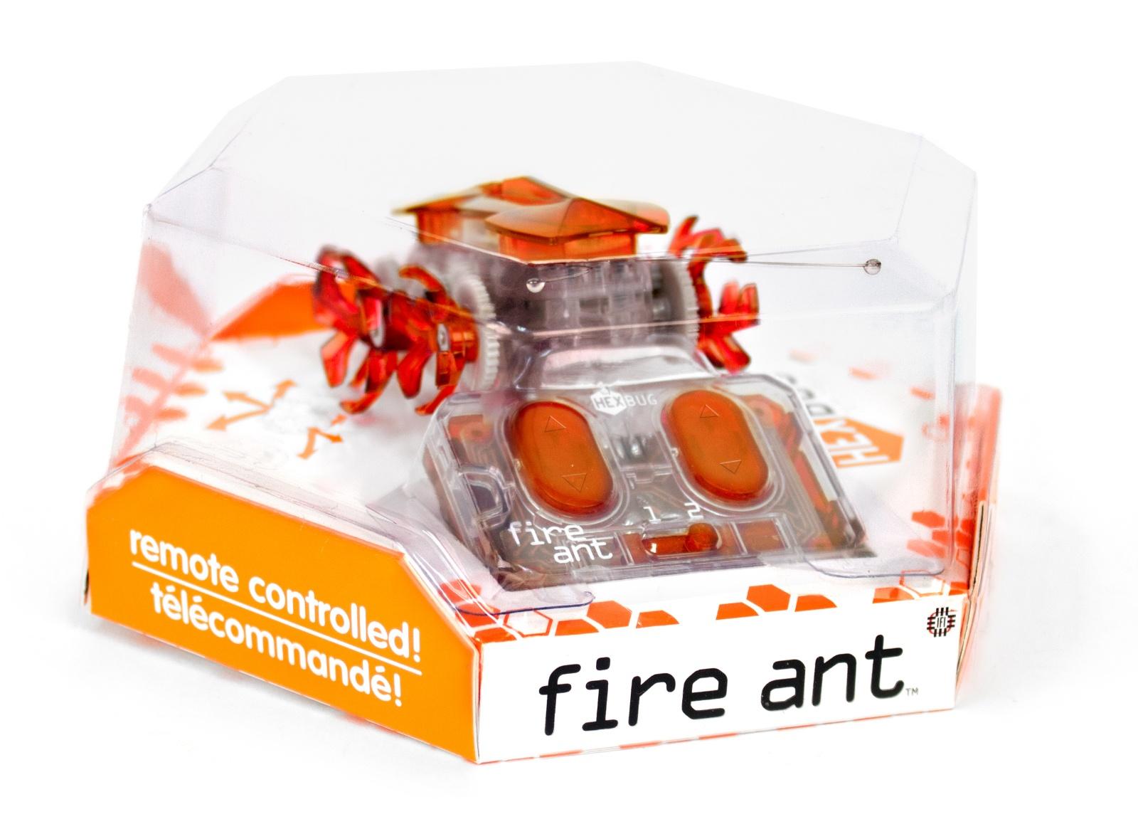 Робот на радиоуправлении HEXBUG Огненный муравей оранжевый
