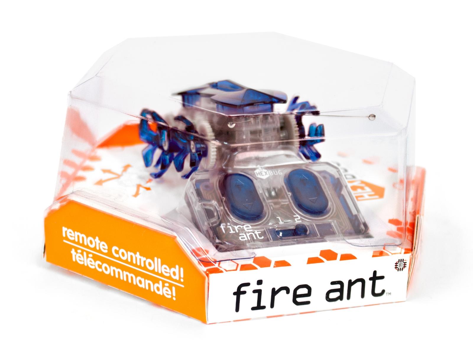 Робот на радиоуправлении HEXBUG Огненный муравей синий