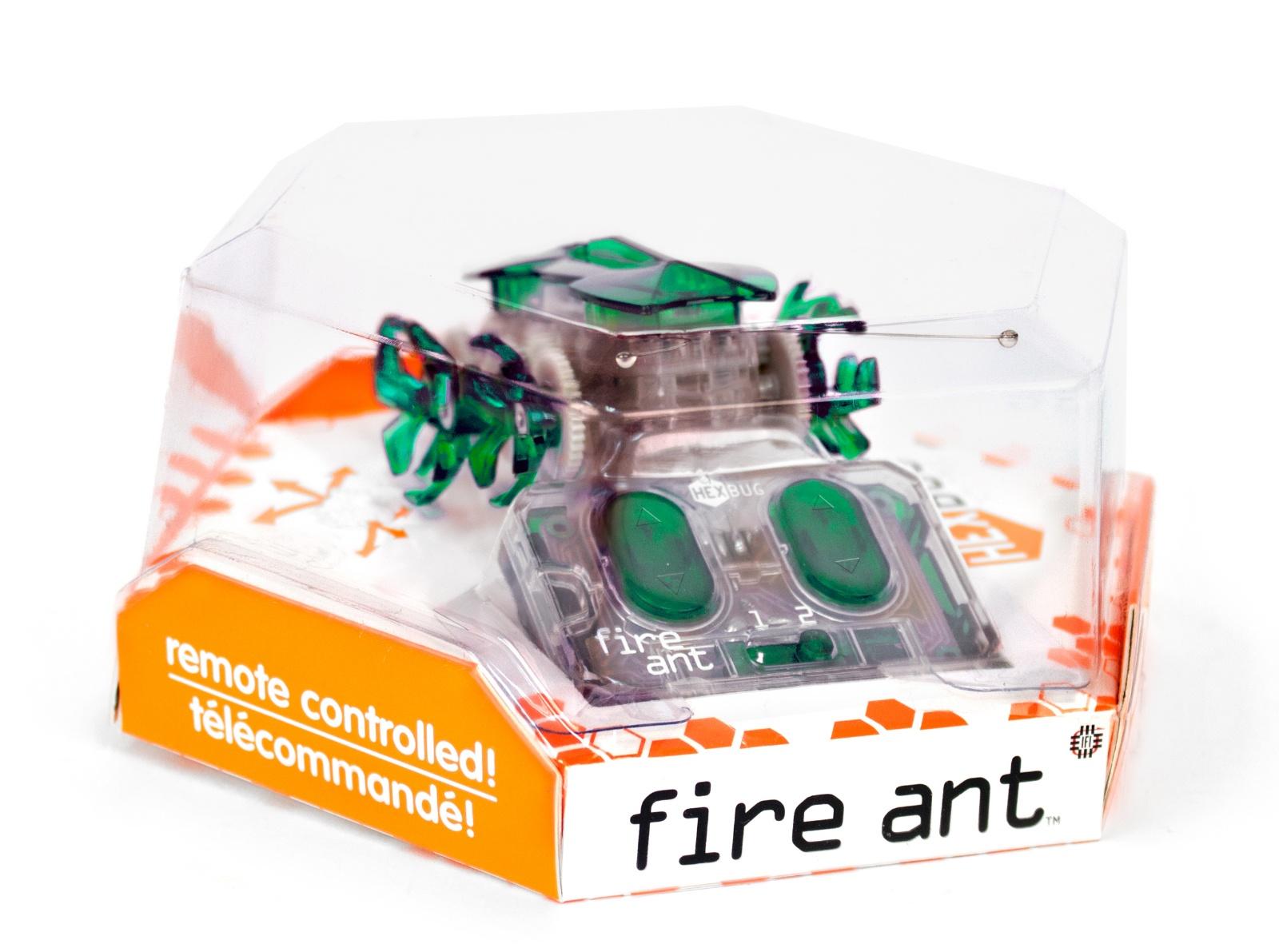 Робот на радиоуправлении HEXBUG Огненный муравей зеленый