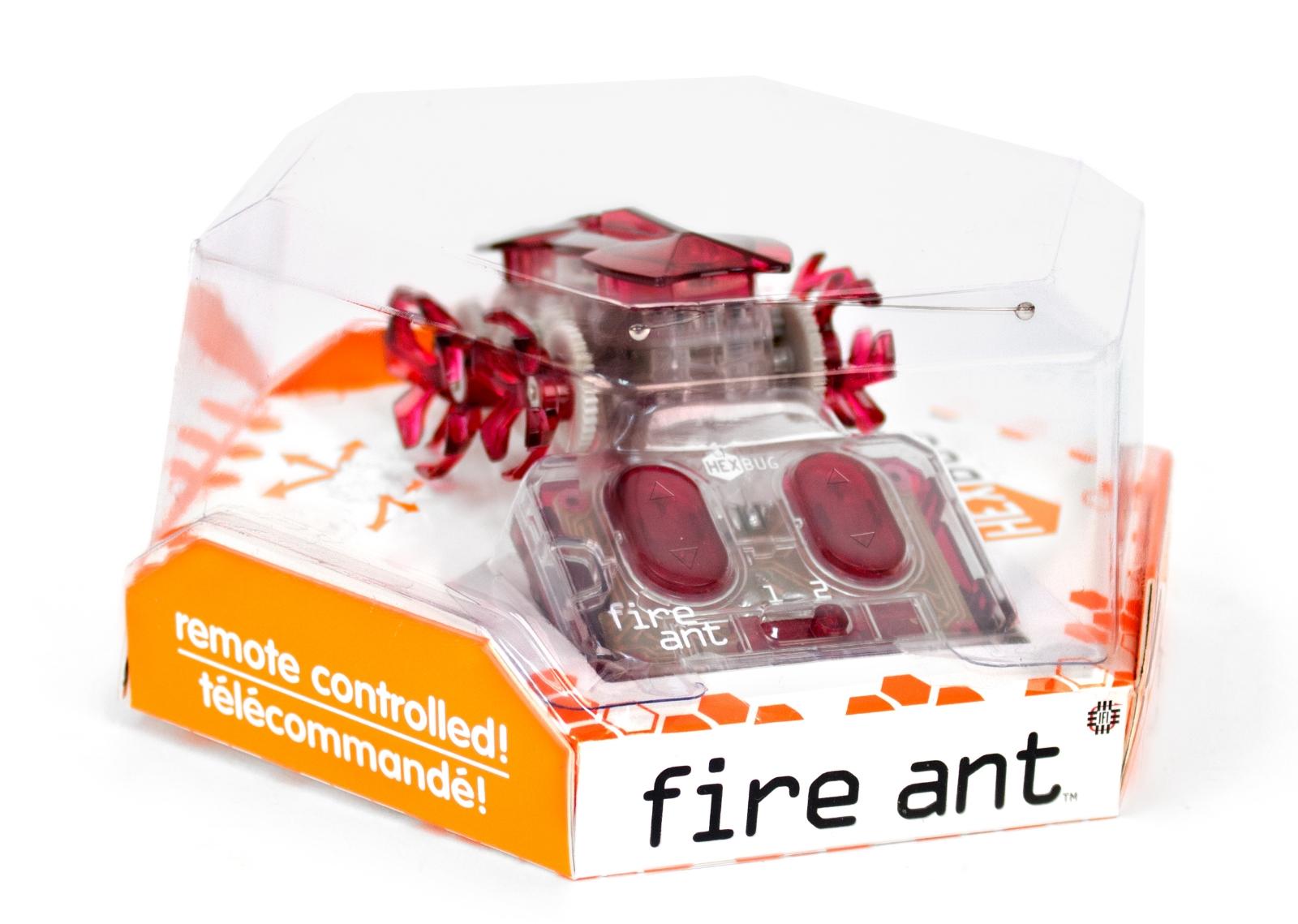 Робот на радиоуправлении HEXBUG Огненный муравей красный