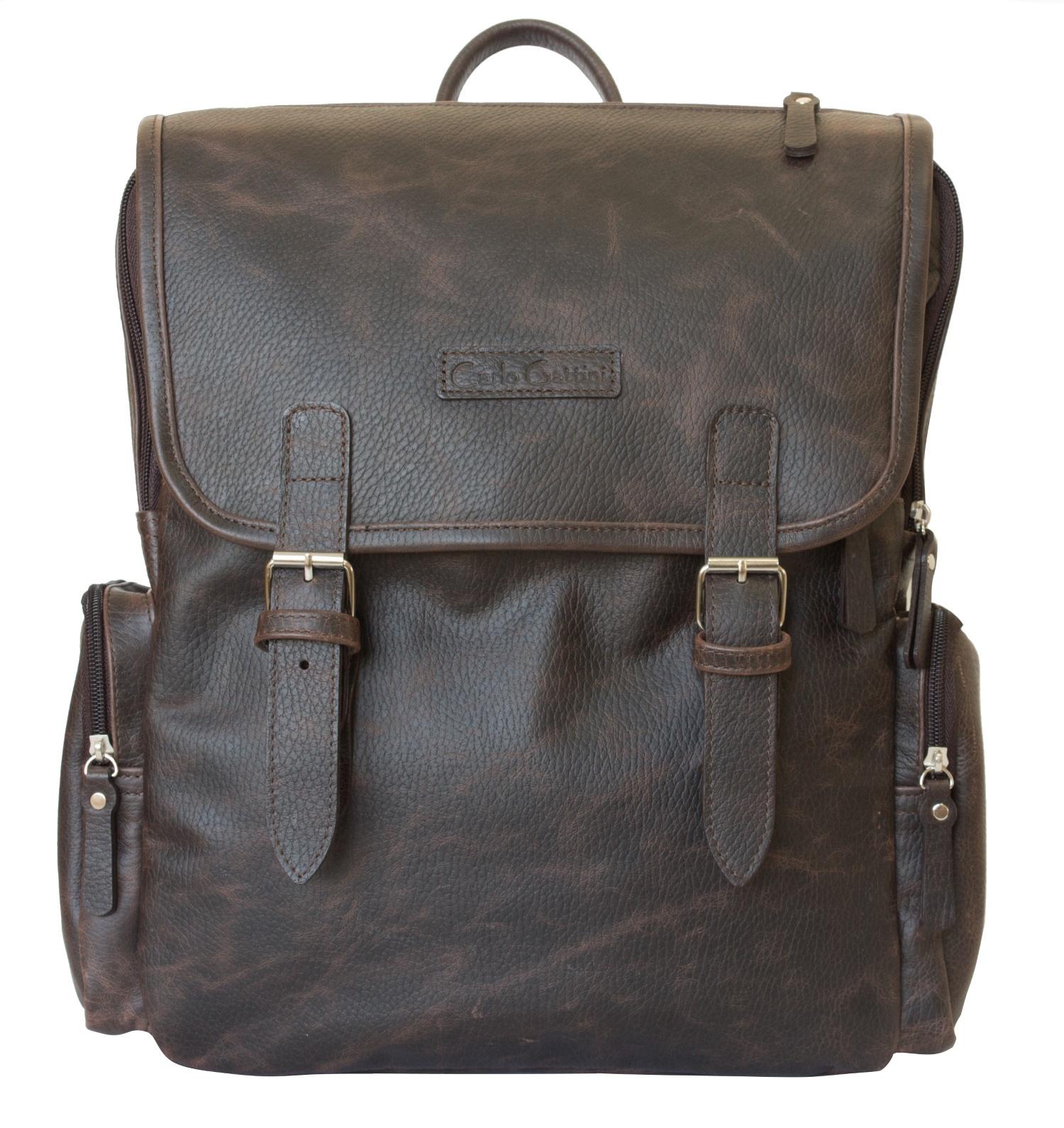 Рюкзак Carlo Gattini Santerno, темно-коричневый ноутбук 10 дюймов