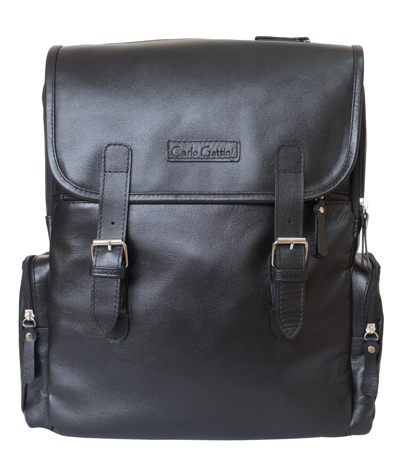 Рюкзак Carlo Gattini Santerno, черный ноутбук 10 дюймов