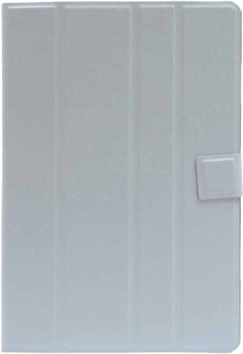 Чехол для планшета GOSSO CASES для планшета с экраном от 9' до 10' Premium uni / silicone straps white, белый