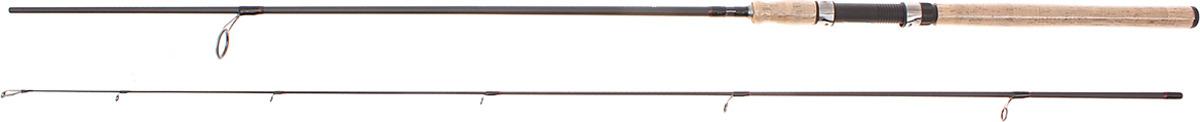 Спиннинг штекерный Волжанка Метеор, 2 секции, 1096676, черный, 2,4 м, 2-7 г